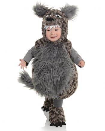 Plüsch Wolf Kleinkinderkostüm