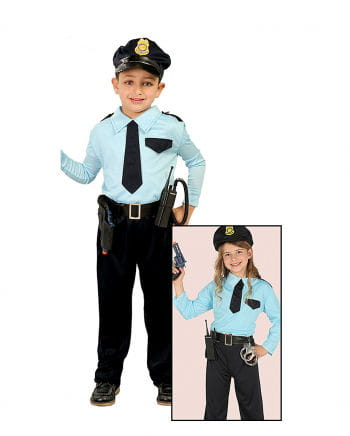 Policemen Children Costume