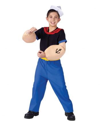 Original Popeye Child Costume S