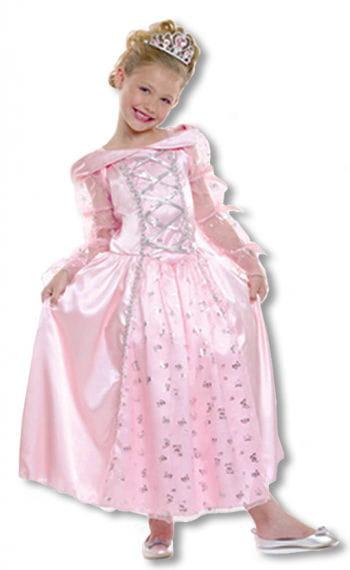 Prinzessin Child Costume mit Diadem M M German size 122-128