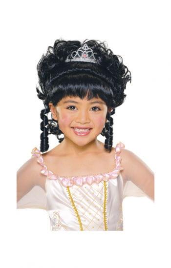 Princess Child Wig Black