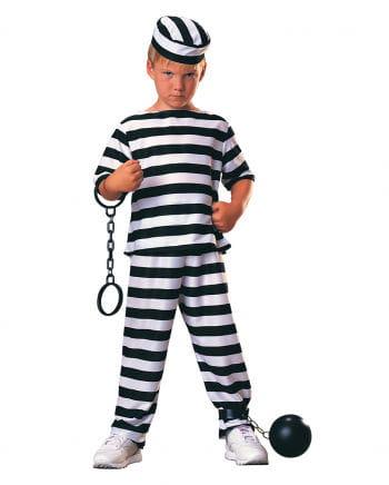 Kleiner Häftling Kinderkostüm