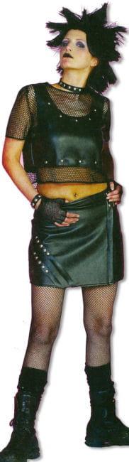 Punk Kostüm Damen XL