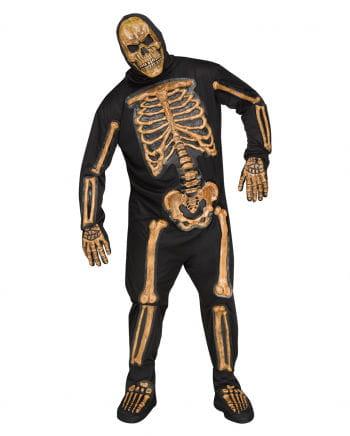 Realistic Skelett-Bones Kostüm Plus Size