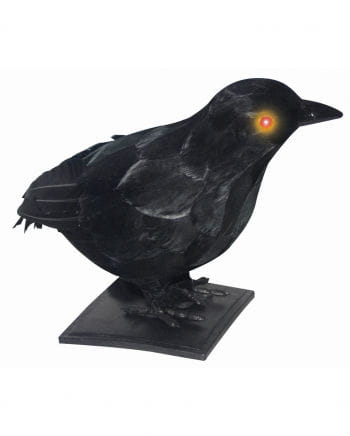 Realistic crow with light & sound