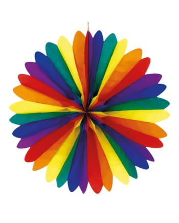 Rainbow Dekofächer 50cm