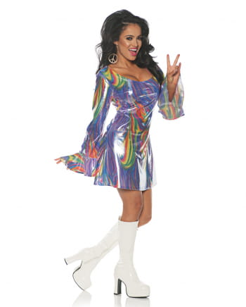 Rainbow Hippie Costume Dress