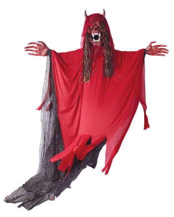 Huge Demon Hanging Figure With LED Eyes 300cm