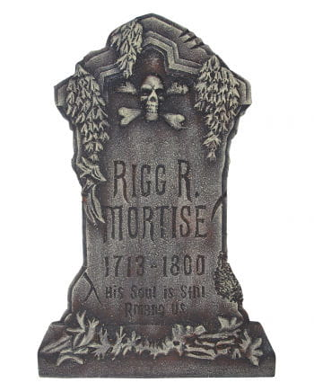 Rigg R. Mortise grave stone