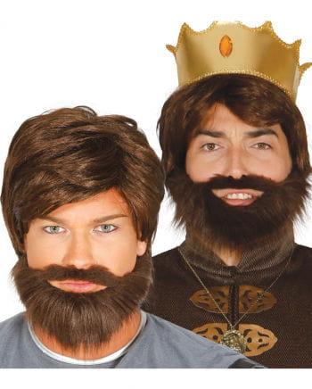 Knight Wig With Beard