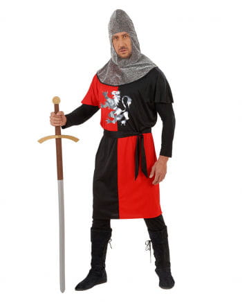 Knight costume red / black Gr. L