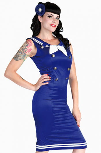 Matrosen Pin-up Kleid M M / 38