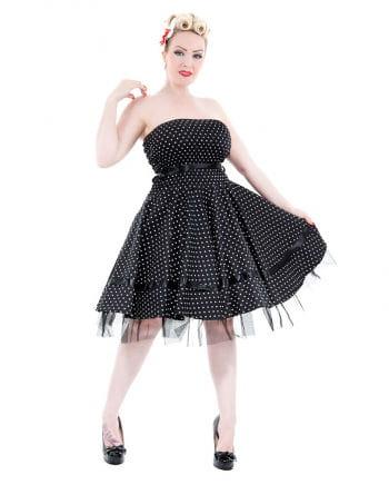 Bandeau Kleid schwarz