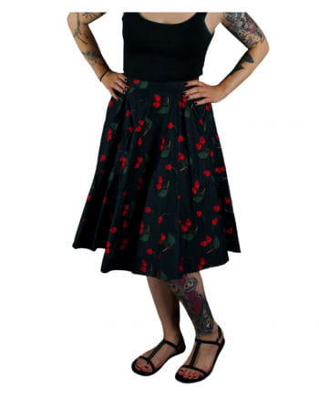 Rockabilly Rock Cherry Skull