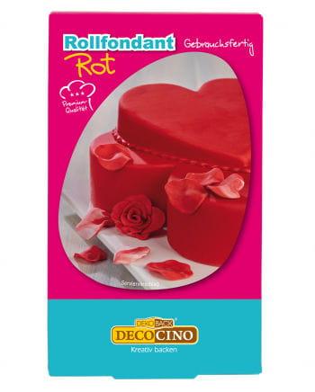 Sugarpaste red 250 g