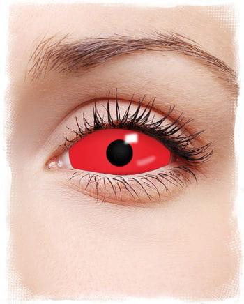 Rote Sclera Kontaktlinsen
