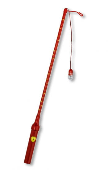 Electric lantern stick with red heart