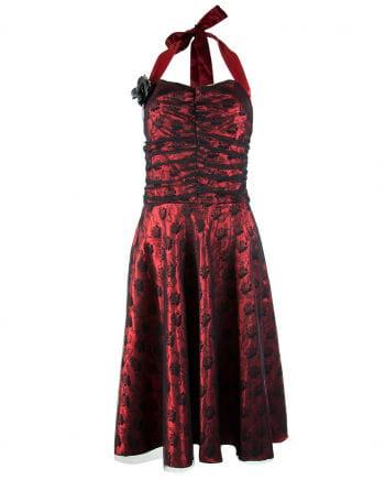 Red-black Gothic Dress