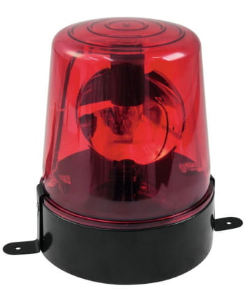 Red Police Light Rotating Beacon 18W