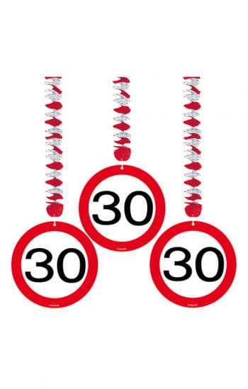 Rotor spiral road sign 30