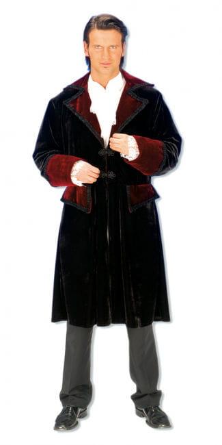 Velvet frock coat