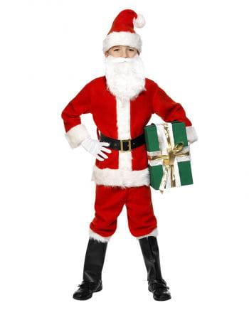 Nikolaus Santa Claus Kinderkostüm