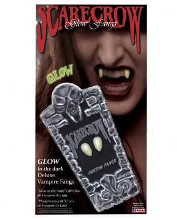 Scarecrow Vampirzähne UV Aktiv Small