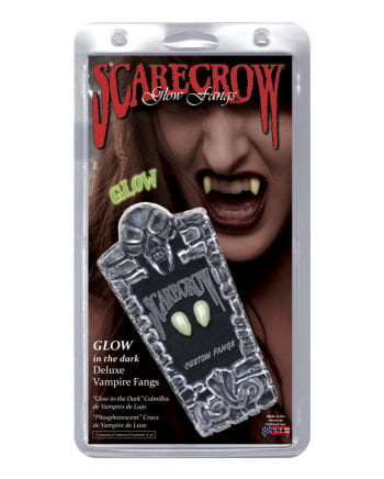 Scarecrow Vampire Fangs UV active