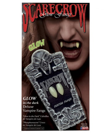 Scarecrow Vampire Teeth UV Active Regular