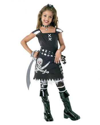 Scarlett Gothic Pirate Child Costume M