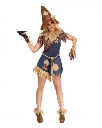 Scary Crow Damen Kostüm