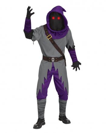Schattenläufer Erwachsenen Kostüm mit Lichteffekt