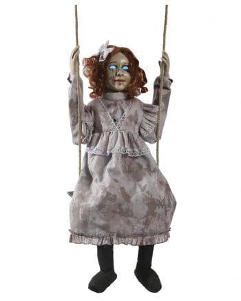Rocking Scary Doll Animatronic