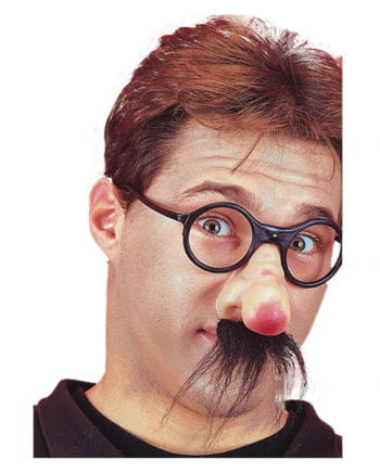 Scherznase mit Brille