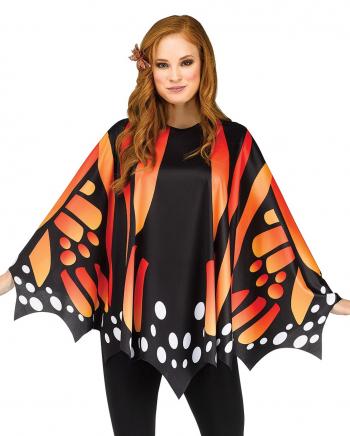 Schmetterlings Flügel Poncho Rot