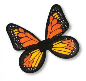 Satin Butterfly Wings Orange