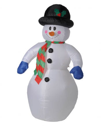 Snowman with LED inflatable 180cm