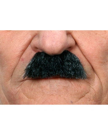 Schnurrbart Charlie Grau