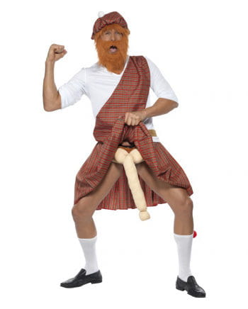 Scots costume with penis