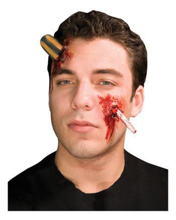 screwdriver wound