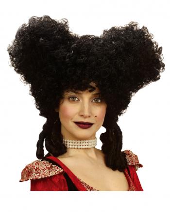 Black Gothic Baroque Wig
