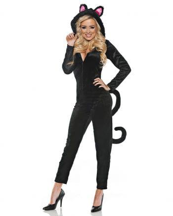 Schwarze Katze Kostüm Overall