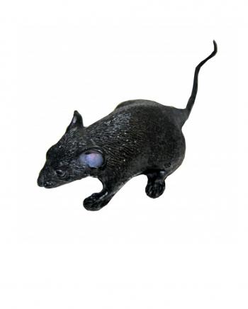 Schwarze Maus 15cm