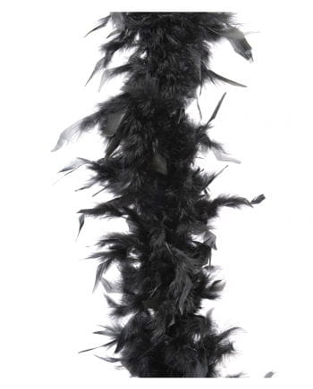 Feather Boa approx 185 cm black