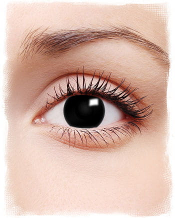 Contact Lenses Black Witch Motif
