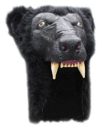 Schwarzer Bär Helm