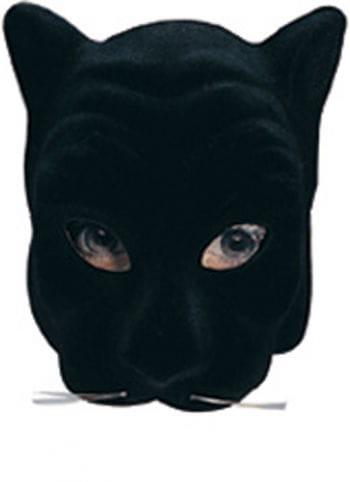 Schwarzer Panther Gesichtsmaske