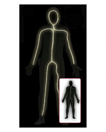 Black Skinsuit with light for men