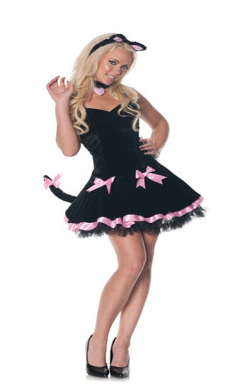 Black Cat Costume for Women XL