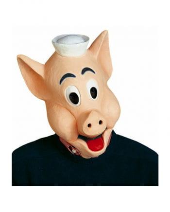 Schlaues Schweinchen Maske